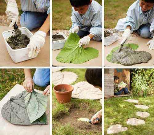 Декор сада своими руками оригинальные идеи фото 82