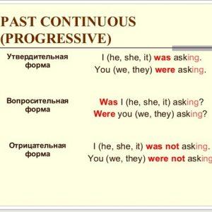 Past Continuous в англійській мові