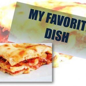 «Моя улюблена страва» англійською – приклад розповіді і нова лексика