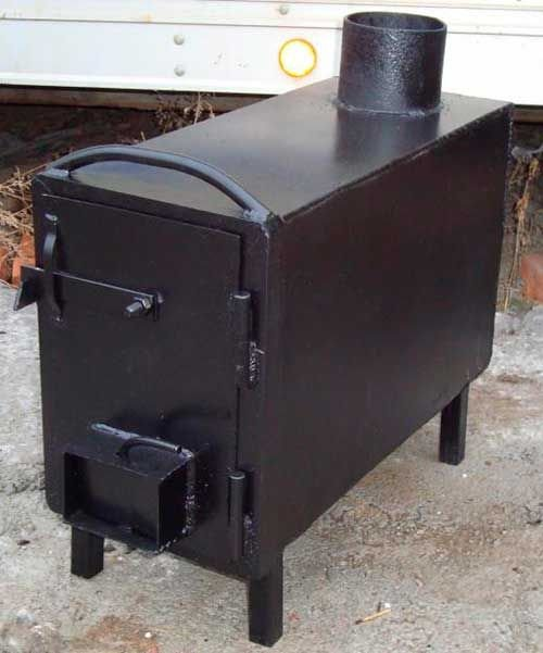 Піч-буржуйка для дачі: чавунна тривалого горіння дров'яна, як встановити своїми руками Опалення