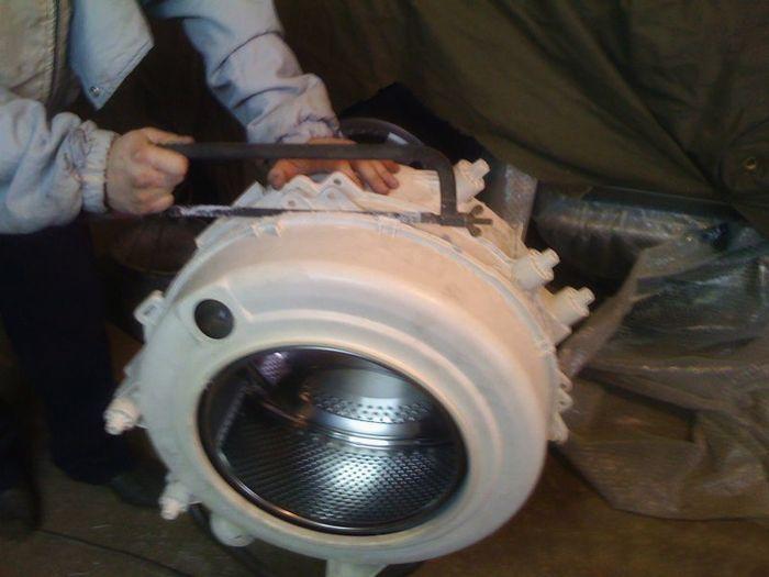 Ремонт стиральной машины своими руками lg замена подшипника 51