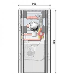 Чеські конвектори Minib для сухих і вологих приміщень