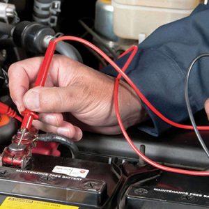 Як перевірити ємність акумулятора мультиметром