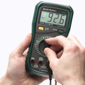 Як мультиметром перевірити опір, силу струму, напругу
