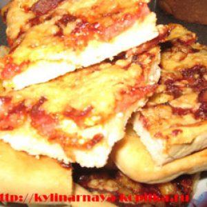 Піца на швидку руку.Смачне тісто для піци