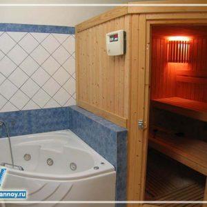Сауна у ванній кімнаті – фото парилень і як зробити лазню своїми руками