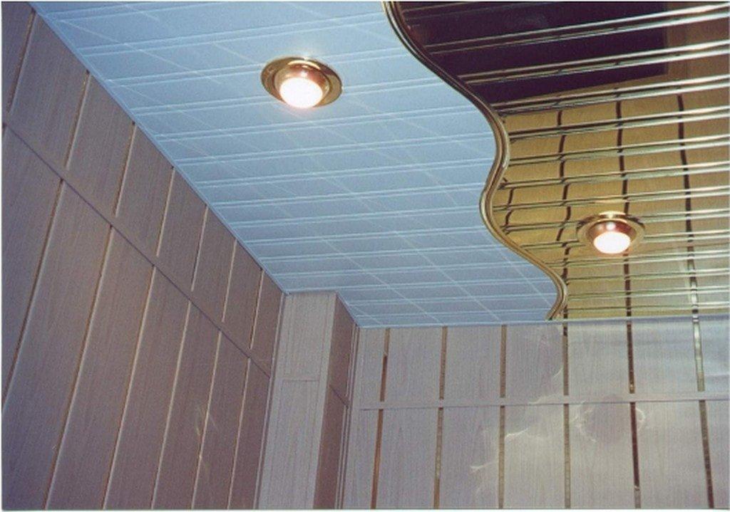 Обшивка балкона пластиковыми 19