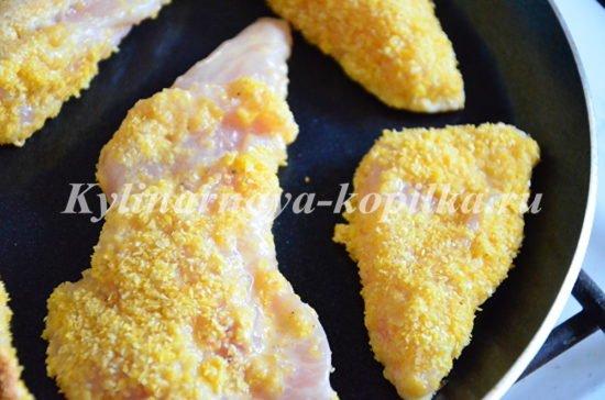 рецепт филе курицы в кляре с фото пошагово