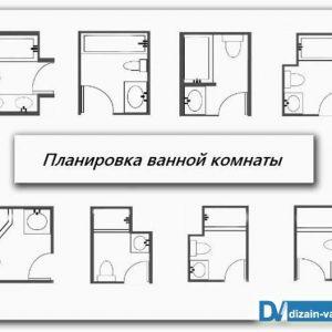 Розмір ванної кімнати – оптимальна планування та розрахунок площі