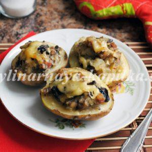 Човники з картоплі з начинкою: рецепт з фото