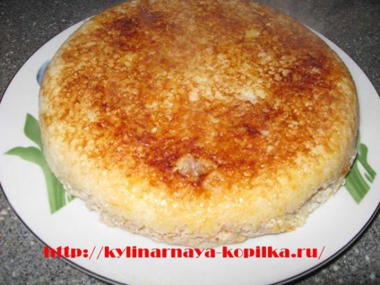 мясная запеканка в мультиварке рецепты с фото
