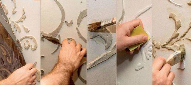 Стена своими руками пошаговая инструкция фото 365