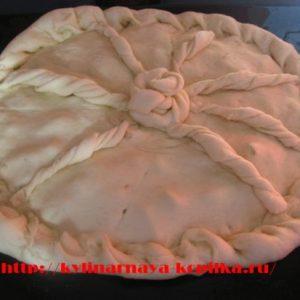 Рецепт пирога з картоплею