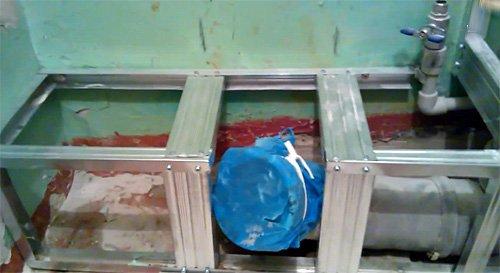 Короб для труб из гипсокартона