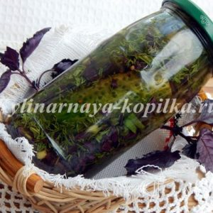 Мариновані огірки: рецепт на зиму, хрусткі без стерилізації