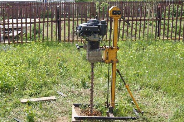 Буровое оборудование для бурения скважин на воду своими руками 821
