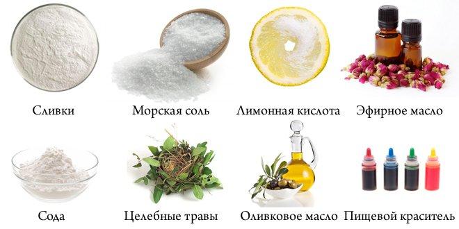 Бомбочки для ванны своими руками без лимонной кислоты