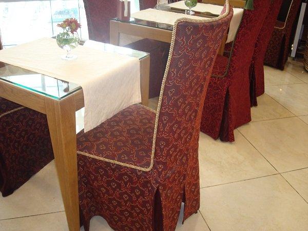 Чехлы для кухонных стульев своими руками фото