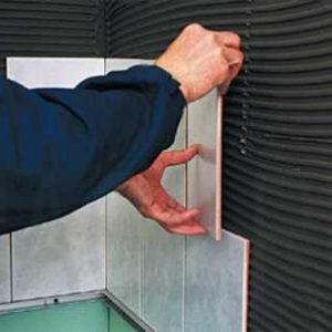 Монтаж плитки на гіпсокартон і кріплення