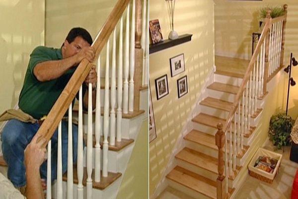 Собрать лестницу своими руками видео