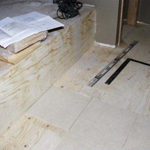 Підготовка підлоги під укладку плитки