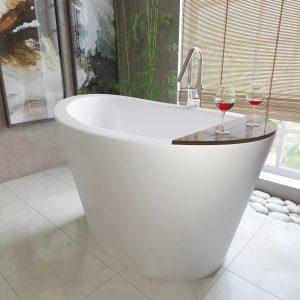Сидячі ванни для маленьких ванних кімнат, як правильно вибрати