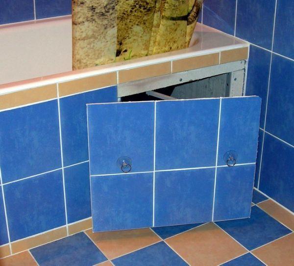 Плитка для ванны своими руками 3