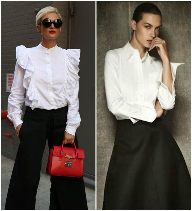 Жіночі блузки 2018 року  фото модних тенденцій і новинок  21287e3fe9a45