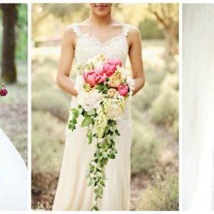 Каскадний букет нареченої: фото та варіанти оформлення