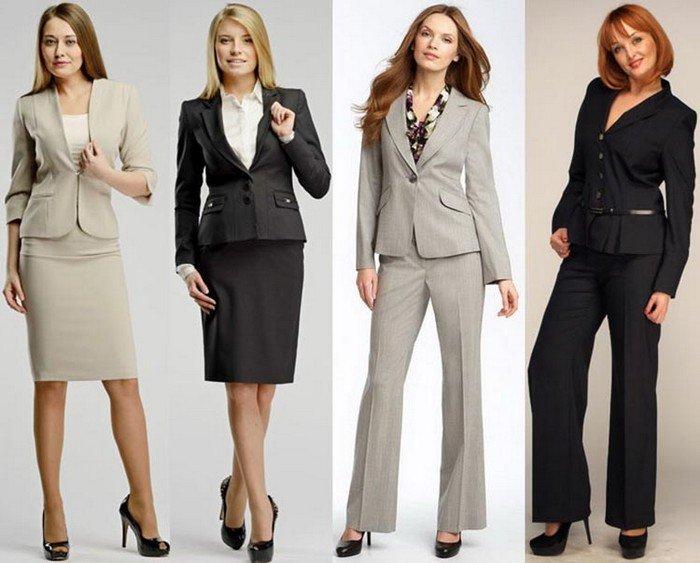 Мода женского делового костюма