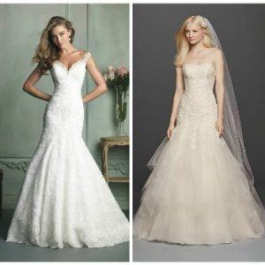 Весільна сукня русалка: фото, ідеї фасонів
