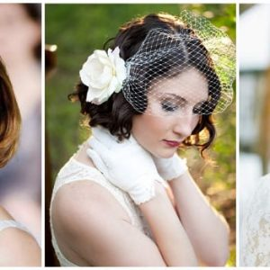 Весільні зачіски на каре: фото та ідеї укладок
