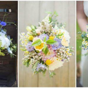 Весільний букет з ромашок: фото, ідеї складання