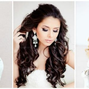 Весільна зачіска локони: фото та ідеї