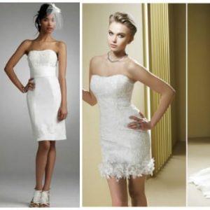 Весільна сукня-трансформер з відстібною спідницею