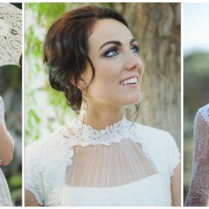 Закриті весільні сукні: їх особливості та ідеї моделей