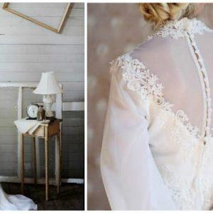 Весільну сукню з перлами: фото та ідеї фасонів