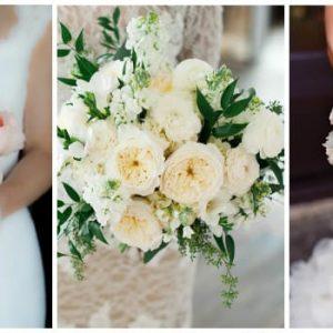 Весільний букет з пионовидных троянд: фото та ідеї оформлення