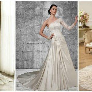 Весільна сукня колір айворі: фото та ідеї наряду