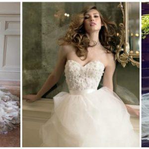 Весільну сукню з корсетом: фото і варіанти фасонів
