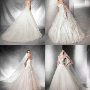 Пишні весільні сукні: фото, ідеї образу