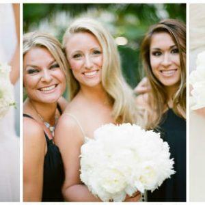 Білий букет нареченої: фото та варіанти оформлення