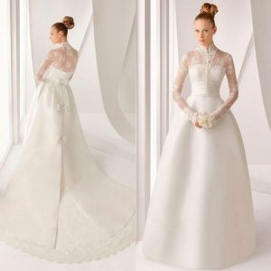 Весільна сукня з рукавами з мережива: головний тренд весільної моди