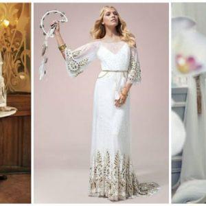 Весільна сукня в стилі бохо: особливості та ідеї