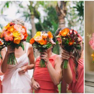 Яскравий букет нареченої: фото та варіанти оформлення