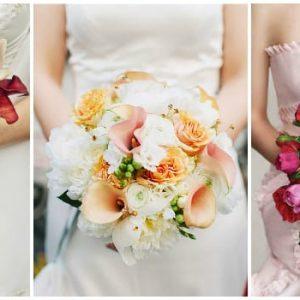 Весільний букет у серпні: з яких квітів оформити