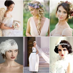 Як підібрати зачіску до весільної сукні
