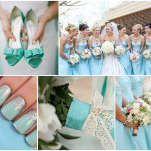 Букет нареченої в стилі Тіффані: фото та ідеї оформлення