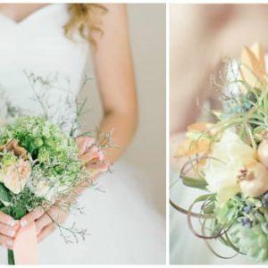 М'ятний букет нареченої: фото та ідеї оформлення