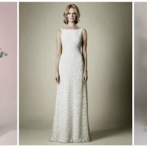 Прямі весільні сукні: фото і варіанти фасонів